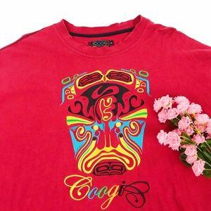 Vintage Coogi Heavily Embroidered Shirt